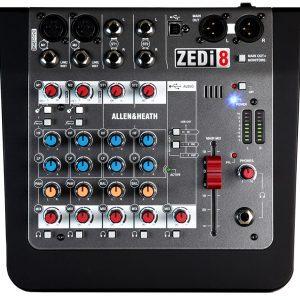 Allen Heath Zed analogue mixing desk