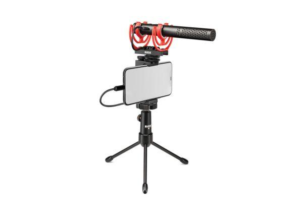 on camera microphone